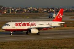 Airbus Atlasjet A320 Στοκ Φωτογραφίες