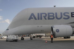 Airbus Beluga Royalty Free Stock Photography