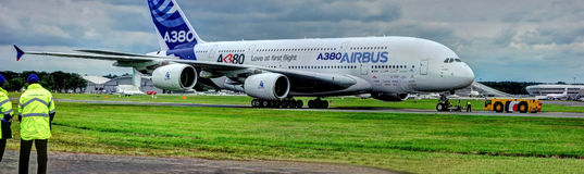 A380 Royalty Free Stock Photo