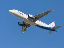 Airbus A320-214 bonito Foto de Stock