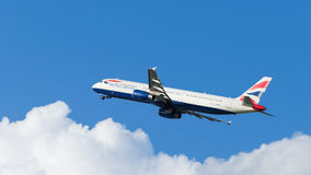 Airbus A321-231 British Airways Fotografia de Stock Royalty Free