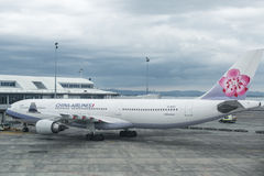 Airbus A 330-300 China Airlines Royalty Free Stock Image