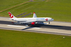 Airbus A330 of Czech Airlines Stock Photo