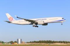 Airbus A350 d'Air China Image libre de droits