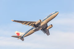 Airbus A330-200 d'Air China Images stock
