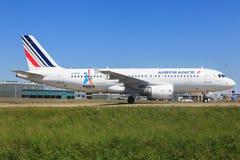 Airbus A320 d'Air France Photos stock