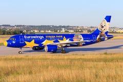 Airbus A320 d'Eurowings Photo libre de droits