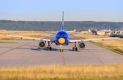 Airbus A320 da Eurowings Fotografia Stock