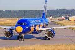 Airbus A320 da Eurowings Fotografie Stock Libere da Diritti