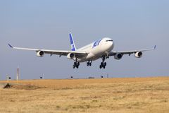 Airbus a340 da Joon Air fotografia stock