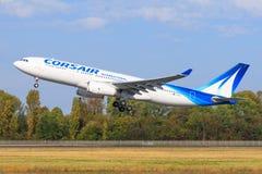 Airbus A330 dal corsaro immagine stock libera da diritti