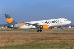 Airbus A320 de condor Photographie stock