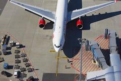 Airbus A330 de Czech Airlines Foto de Stock Royalty Free
