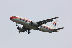 Airbus A320-200 de ligne aérienne orientale de la Chine Images libres de droits