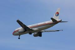 Airbus A320-200 de ligne aérienne orientale de la Chine Image libre de droits