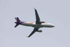 Airbus A320-200 de Thaismile Fotografia de Stock