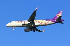 Airbus A320-200 de Thaismile Imagem de Stock