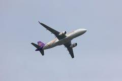 Airbus A320-200 de Thaismile Imagem de Stock Royalty Free