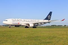 Airbus A330 de turc Image libre de droits