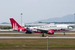 Airbus A320 decola Fotografia de Stock Royalty Free