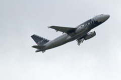 Airbus A319-132 delle linee aeree di spirito Fotografia Stock Libera da Diritti