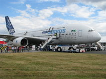 Airbus des 380 Photos stock