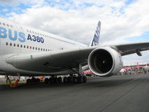 Airbus des 380 Photo stock
