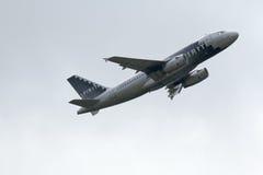 Airbus A319-132 des lignes aériennes d'esprit Photographie stock libre de droits