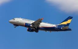 Airbus Donavia A319 Στοκ Φωτογραφία