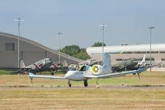 Airbus E-Fan electric plane Royalty Free Stock Image