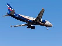 Airbus A320, E Habarov Lizenzfreies Stockbild