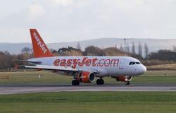Airbus EasyJet A319 Στοκ Εικόνες