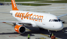 Airbus EasyJet A319 στοκ φωτογραφίες