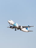 Airbus A321-231 Egyptair Photo libre de droits