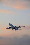Airbus a340-500 Emirates Stock Photos