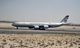 Airbus A330-243 Etihad Stock Images