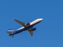Airbus A320, F Bellinsgauzen Lizenzfreie Stockfotos