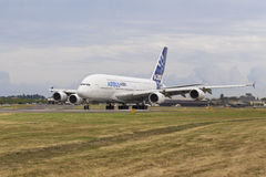 Airbus A380 Royalty Free Stock Photography
