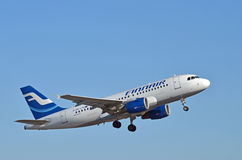 Airbus A319 Royalty Free Stock Photography