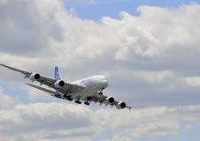 Airbus flying Royalty Free Stock Photos