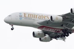 Airbus A-380 800 Front Stock Photography