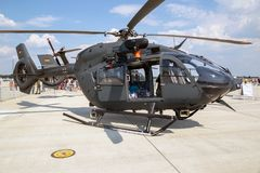 Airbus H145M military utility helicopter Stock Images