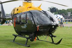 Airbus Helicopters H135 Juno. T1 a design introduced in to the RAF training programme in 2018. The type is mainly used by emergency medical services, corporate stock photography