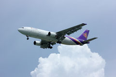 Airbus a300 HS-TAZ thaiairway Royalty Free Stock Photography