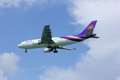Airbus a300 HS-TAZ thaiairway Stock Images