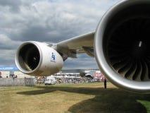 Airbus i 380 Fotografia Stock Libera da Diritti