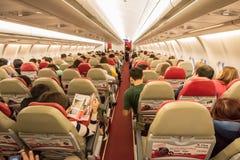 Airbus interior A330-300 Fotografia de Stock
