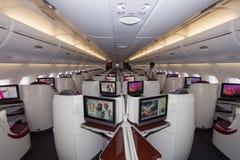 Airbus A380 interior Stock Image