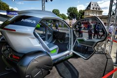 Airbus Italdesign a parco del valentino fotografia stock
