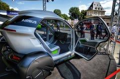 Airbus Italdesign at parco del valentino. New open Car show  airbus Italia design Stock Photo